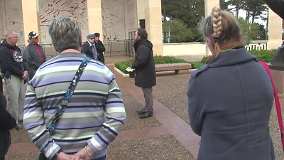 10 min video -- American Cemetery, Normandy, France., Tue., Nov. 6, 2018