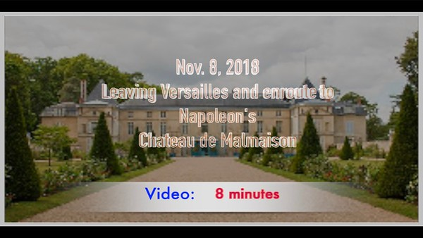 Video:  8 - Napoleon's Residence Prior to his exile.