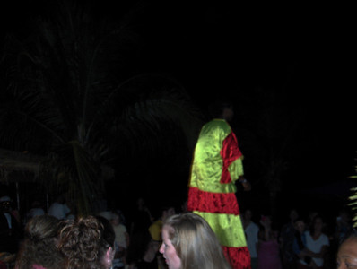 Virgin Gorda Leverick Bay Jumbies Beach Bar BBQ & Mocko Jumbies