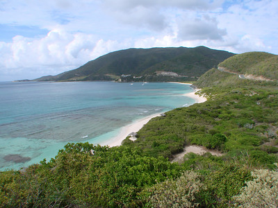 Virgin Gorda Middle Beaches Savannah, Pond Bay