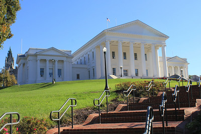 October 11, 2012 - (Virginia State Capitol [Bank Street] / Richmond, Virginia) -- Virginia State Capitol and grounds