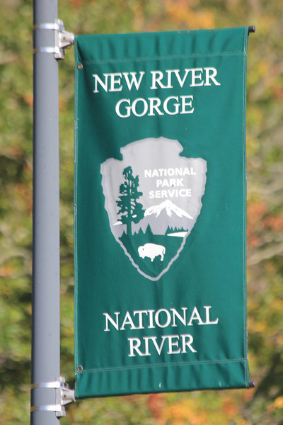 October 13, 2012 - (New River Gorge National River [Sandstone visitor center] / Meadow Creek, Summers County, West Virginia) -- Signage