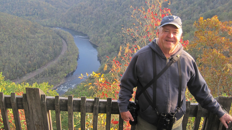 October 13, 2012 - (New River Gorge National River [Grandview visitor center North overlook] / Grandview, Raleigh County, West Virginia) -- David