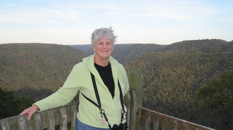 October 13, 2012 - (New River Gorge National River [Grandview visitor center North overlook] / Grandview, Raleigh County, West Virginia) -- Mary Anne