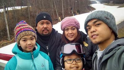 2017-01-16 2nd Day Ski Class and Ski Day