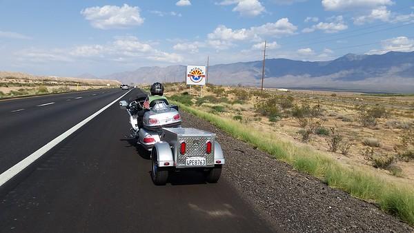 Goldwing Trip to Ray  & Patty in Utah