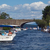 Boat line-up in Weirs Beach