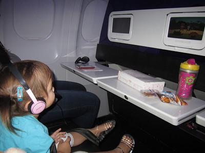 In-flight snacks
