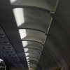 Humidity in Atlanta caused AC to fog up inside the plane.  Looked like dry ice fumes