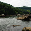 The Gauley River right below Summersville Dam