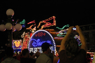 My sister used to have a tape of all the Disney Land songs. We used to listed to the Electric Light parade & do a roller skating dance routine to it.  I have very good memories of that song.