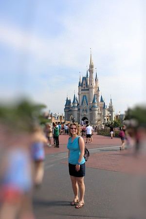 Look Mom I made it to Disney World.