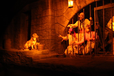 This should look familiar for all you Pirates of the Caribbean ride fans.
