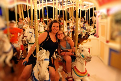 Lorinda & Anissa before the ride started