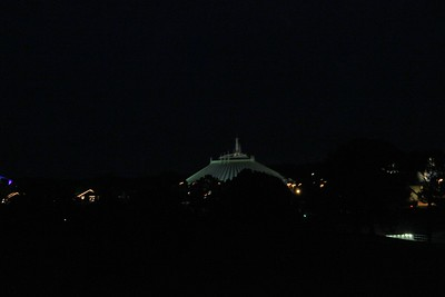 A picture of Space Mt. that I took from the monorail.