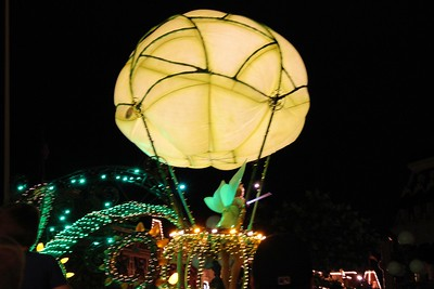 We got to see the Electric Lights parade.  They used to have this at Disney Land but it was another thing that Disney Land no longer does.  So it was great to see it at Walt Disney World.