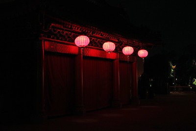 Loved these Chinese lanterns.