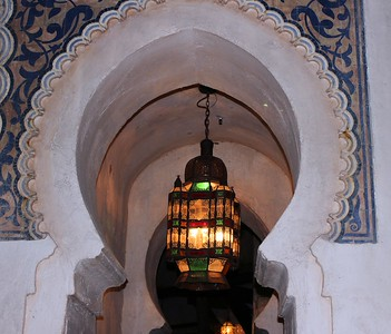 I loved the architecture in Morocco.