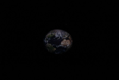 You even get to travel to outer space to see the Earth.