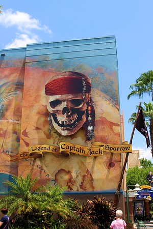 Lorinda & I went to visit Captain Jack Sparrow.