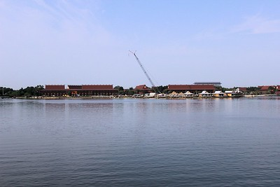 The Disney's Polynesian Village Resort where we went for an awesome breakfast.