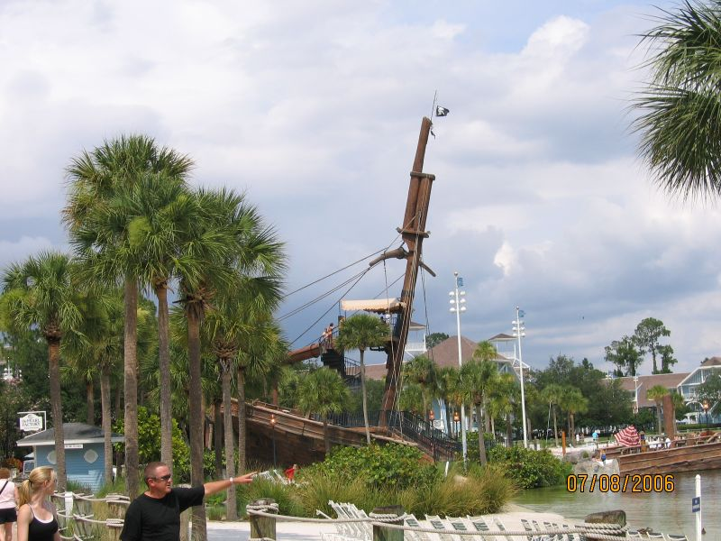 Shipwrecked Boat Slide