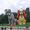 Inflatable Lady and the Tramp