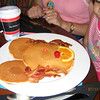 Mickey pancakes at Kona Cafe