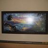 Art work in Polynesian room