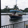 Water taxi at the Polynesian Resort