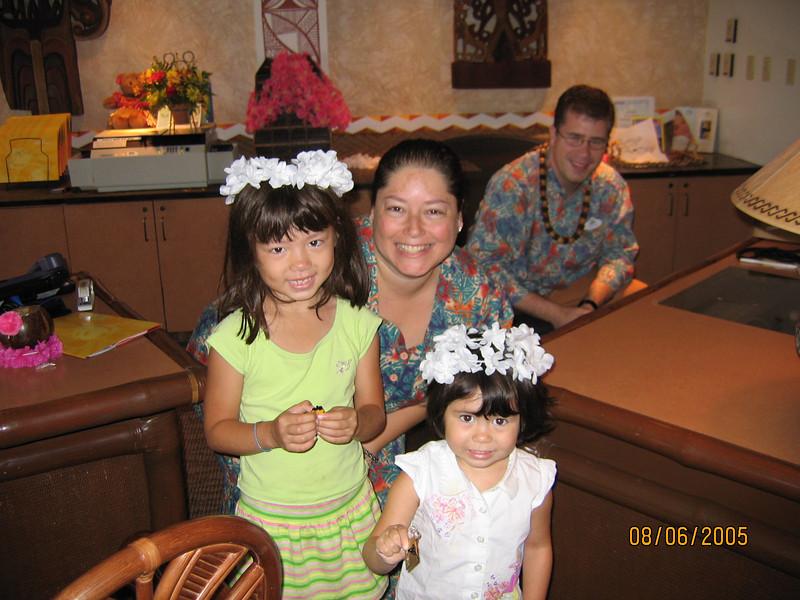 Polynesian concierge desk