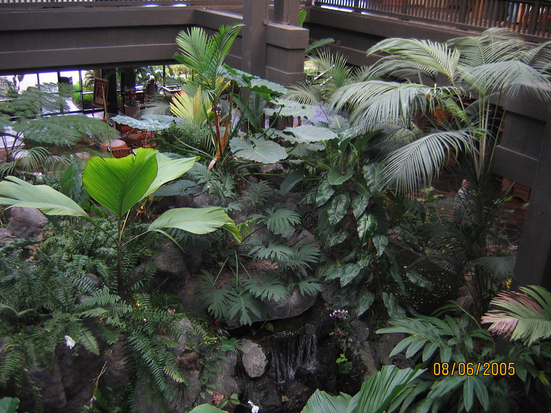 Polynesian Resort main lobby