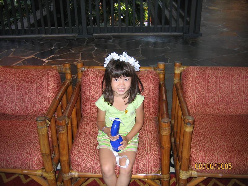 Polynesian concierge lobby