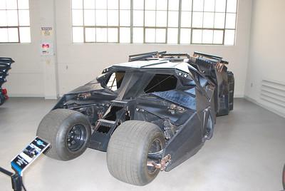 Batmobile in Batman Returns.