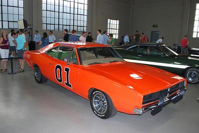 Bo Duke and Luke Duke's car.