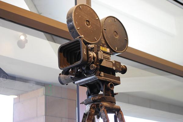 Closeup of camera.