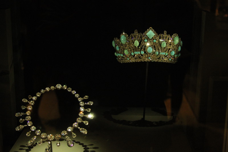 Given by Napolean to his second wife, Empress Marie Louise - Museum of Natural History