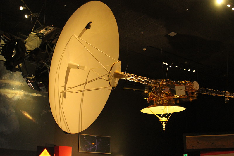 Voyager with New Horizons in the background
