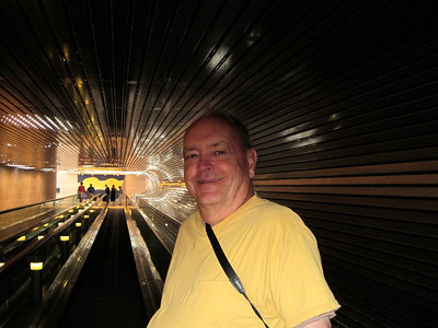 June 25, 2010 - (National Art Gallery [tunnel between wings] / Washington D.C.) -- David