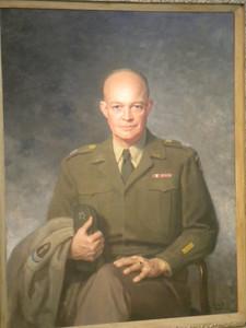"June 23, 2010 - (The National Portrait Gallery / Washington D.C.) -- ""General Eisenhower"" painting"