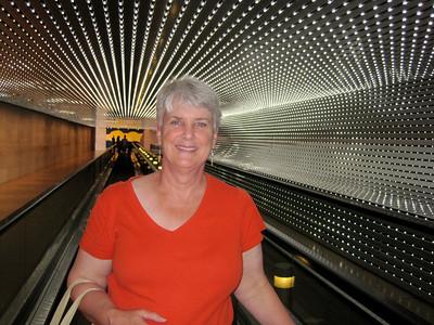 June 25, 2010 - (National Art Gallery [tunnel between wings] / Washington D.C.) -- MaryAnne