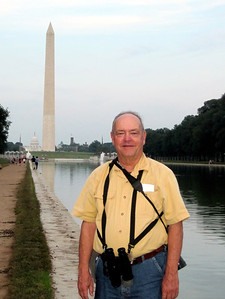 June 23, 2010 - (National Mall [Reflecting Pool] / Washington D.C.) -- David with Washington Monument in the background
