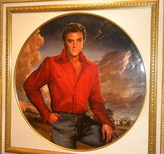 "June 23, 2010 - (The National Portrait Gallery / Washington D.C.) -- ""Elvis Presley"" painting"