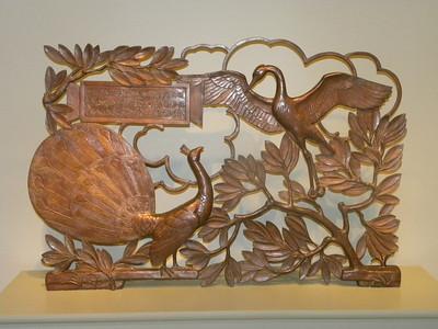 June 23, 2010 - (The National Portrait Gallery / Washington D.C.) -- Sculpture of Birds