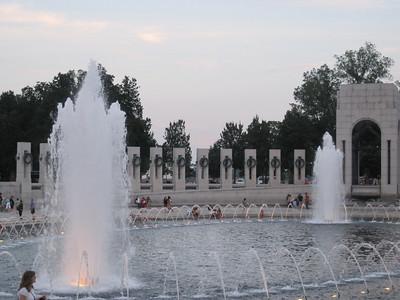 June 23, 2010 - (National Mall - World War II Memorial / Washington D.C.)