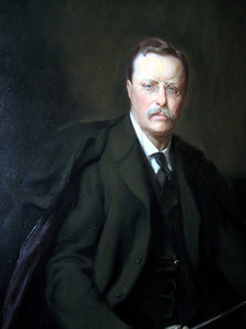 """June 23, 2010 - (The National Portrait Gallery / Washington D.C.) -- """"Theodore Roosevelt"""" painting"""