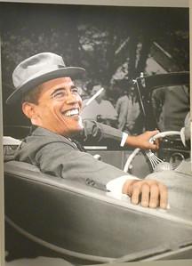 "June 23, 2010 - (The National Portrait Gallery / Washington D.C.) -- ""Barak Obama"" painting"
