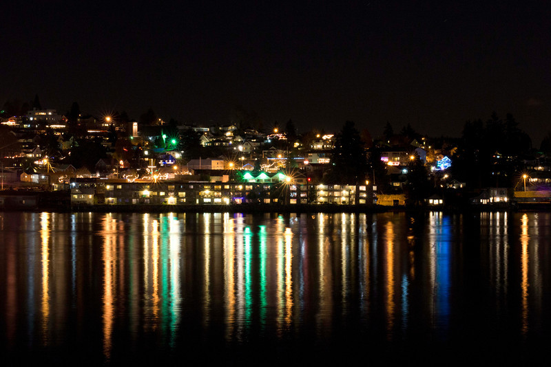 Bremerton WA looking towards the Manette Bridge.