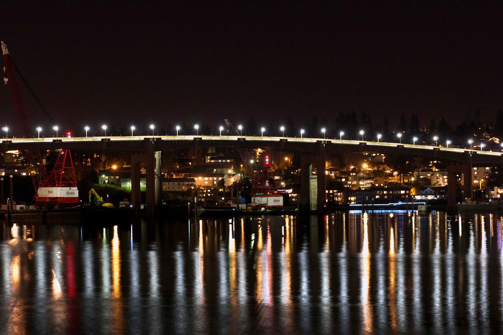 Bremerton WA looking towards the Manette Bridge