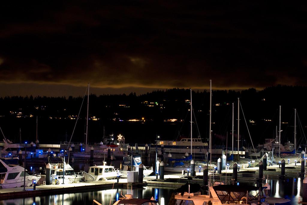 Bremerton Marina near the Seattle Ferry terminal